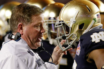 Notre Dame's Brian Kelly carries on tradition of snake-oil coaches - Chicago Sun-Times   Sports Ethics and Coaching football   Scoop.it
