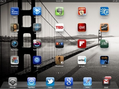 Jason Hiner's 22 most useful iPad apps | TechRepublic | Apple, Mac, iOS4, iPad, iPhone and (in)security... | Scoop.it