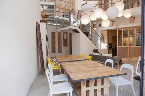 Barcelone : un espace de coworking créé à partir de matériel de récupération | Déco Bureau | CoworkingLille | Scoop.it