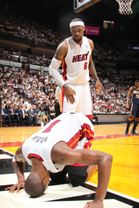 """Miami Heat Coach Erik Spoelstra: Chris Bosh will be """"game time decision"""" for Game 5 vs. Celtics 