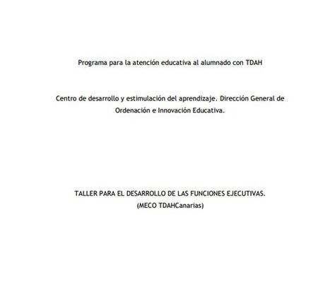 Recursos para trabajar las Funciones Ejecutivas - Atendiendo Necesidades | El mundo de la Educación Especial | Scoop.it