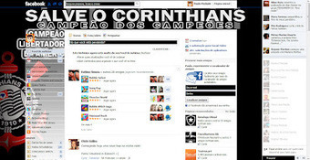 Tema pra Facebook - Corinthians Campeão da Libertadores 1 | Themes for Facebook | Scoop.it