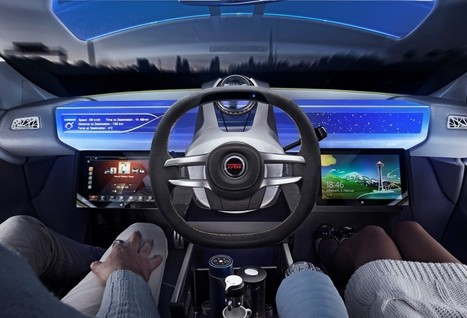 TRW Steering Wheel Concept Supports Automated Driving   automobile engineering   Scoop.it
