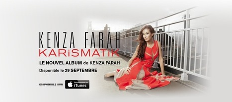 "KENZA FARAH • Nouvel album ""4 LOVE"" le 29 septembre 