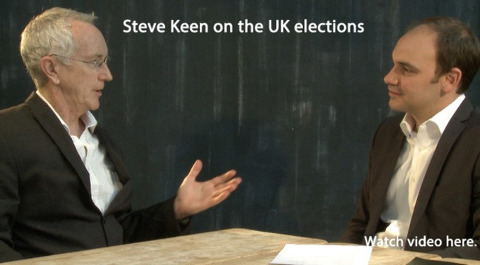 Steve Keen on the UK Elections - Renegade Inc. | real utopias | Scoop.it