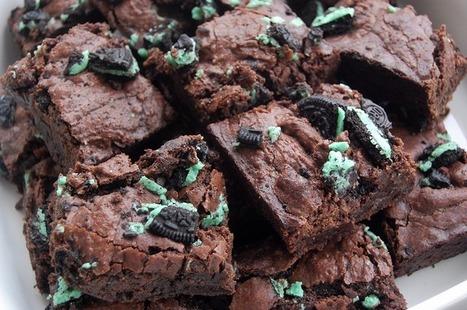 Bonnie's Bakery: Mint Oreo Brownies | Baking | Scoop.it