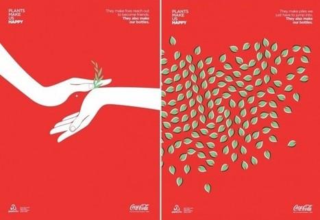 Coca-Cola Negative Space Posters | Trends & Design | Scoop.it