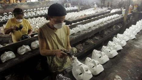 'Anonymous Masks' Photo Stirs Controversy On Guy Fawkes Day - International Business Times | Anonymous' MillionMaskMarch | Scoop.it