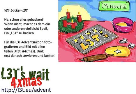 Advent mit L3T: Wir backen | Flickr: partage de photos! | L3T - Lehrbuch für Lernen und Lehren mit Technologie | Scoop.it