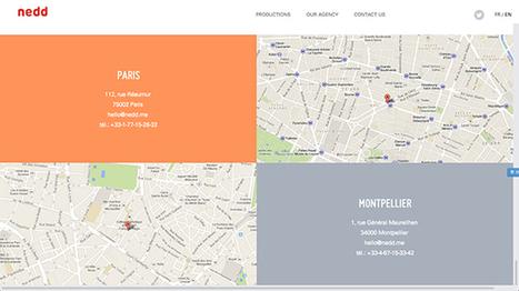 Showcase de pages Contact ! (Paula Borowska- Designmodo) | UX & expériences informatives | Scoop.it