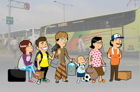 It's time for mudik! | Changing Asia -for Primary Teachers | Scoop.it