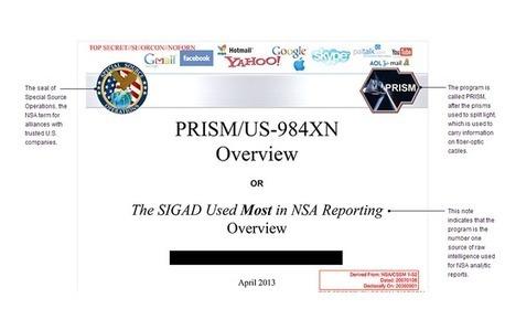 Le FBI a accès aux serveurs des géants d'Internet   Redocumentarisation de l'individu   Scoop.it