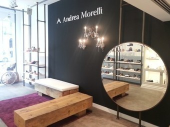 Andrea Morelli opens a new store in Barcelona | Le Marche & Fashion | Scoop.it