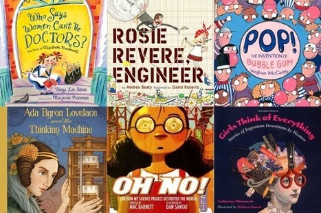 Goldie's Super STEMy Reading List for Budding Scientists, Inventors, and Engineers - GoldieBlox   Reading + Children   Scoop.it