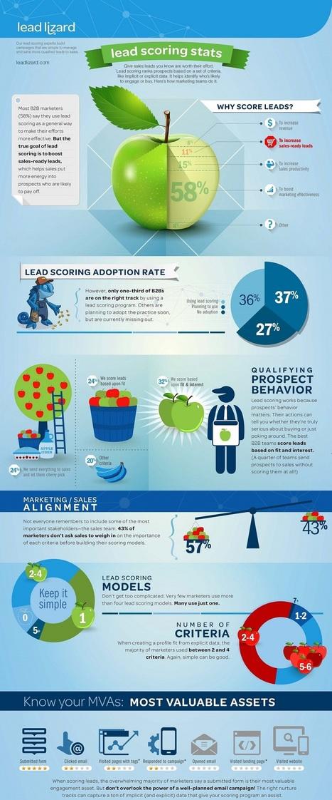 Usages du Lead Scoring   Contenus Marketing BtoB   Scoop.it