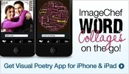 ImageChef - Word Mosaic | Graphical words | Scoop.it