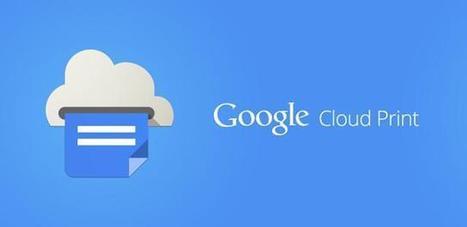 Google Cloud Print App Is Now Official | Web Marketing | Scoop.it