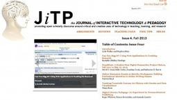 Launch of Issue 4 of the Journal for Interactive Technology & Pedagogy | Anne Donlon | Digital Technology for Language Teaching | Scoop.it