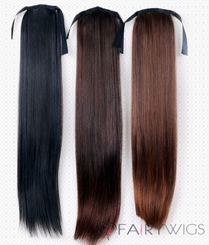 20 Inch Wholesale Human Hair Drawstring Ponytails : fairywigs.com | Hair Extensions | Scoop.it