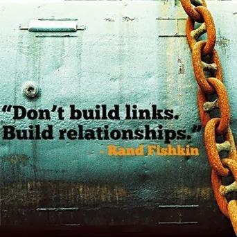 "#quoteoftheday by Rand Fishkin ""Don't build links. Build… 