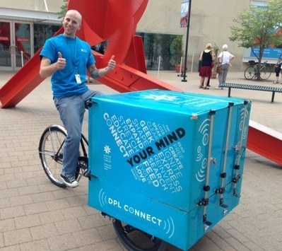Books by Bike: Pedal-Powered Libraries Now in Five Cities | Design on GOOD | The Future of Natural and Built-In Assets | Scoop.it