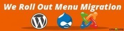 We Roll Out Menu Migration for Drupal, Joomla and WordPress | WordPress to Drupal: All about Transfer | Scoop.it