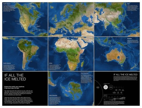 Maps - If All The Ice Melted | Geofactualidades | Scoop.it