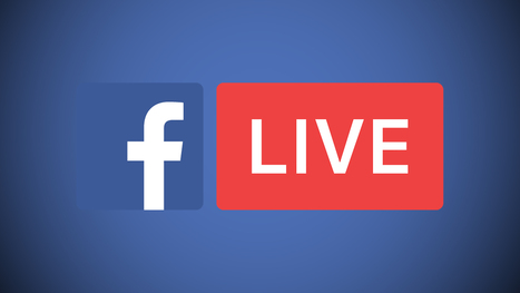 Facebook Live arrive sur desktop  | Community Management Post | Scoop.it