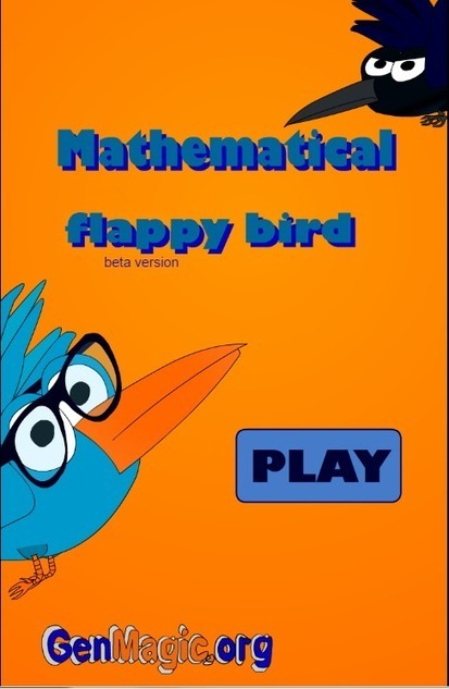 Mathematical flappy bird | Revista GenMagic | Scoop.it