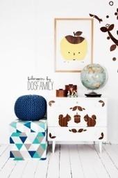 Adhésif bois : Customiser la commode de bébé... « Stickerzlab, astuces et idées déco pour tous | décoration & déco | Scoop.it