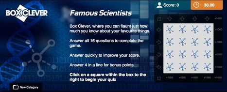 Famous Scientists Quiz | Box Clever | QuizFortune | Quiz Related Biz - Social Quizzing and Gaming | Scoop.it