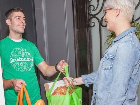 Grocery Delivery Startup Instacart Scores $220 Million Investment | Ecommerce logistics and start-ups | Scoop.it