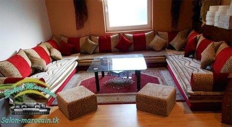 Salon marocain rifi berbere deco marocain - Salon berbere moderne ...