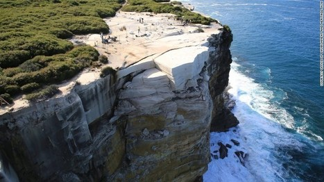 Australia's Wedding Cake Rock may collapse into the sea | Conformable Contacts | Scoop.it