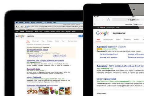 Google zoekresultatenpagina is veranderd. Wat nu? | Snap Media internet marketing en webdesign | Scoop.it