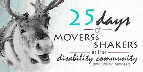 25 Days of Mobility Movers and Shakers in the Disability Community | Enriching Content for People with Disabilities | Scoop.it