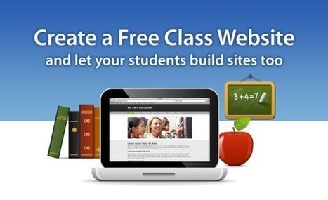 Build Great Classroom Websites with Weebly for Education | Into the Driver's Seat | Scoop.it