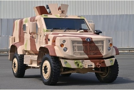 India's Tata Motors draws on Supacat's technical skills | FixingIntel | Scoop.it