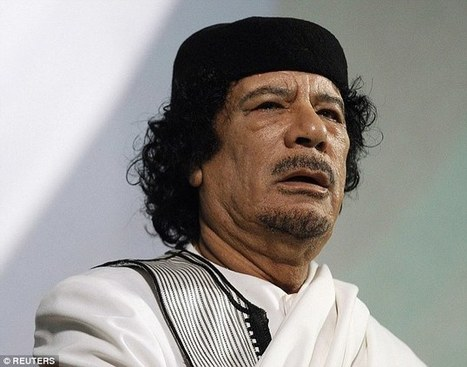 Never-before-seen footage shows Colonel Gaddafi before he is executed - ( 2016 Update) #VivaGaddafi | Saif al Islam | Scoop.it