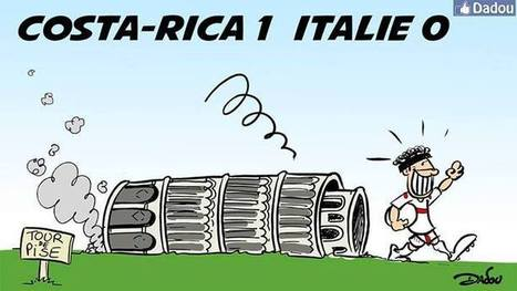 Pour mes amis costariciens …et italiens ;) | Dessinateurs de presse | Scoop.it