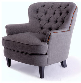 Watson Royal Vintage Design Upholstered Armchair - traditional - armchairs - by Great Deal Furniture | House Design | Scoop.it