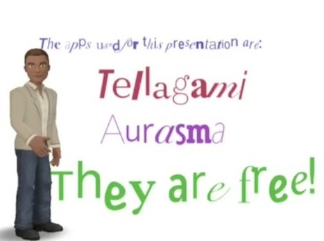 Tellagami, TypeDrawing, and Aurasma - an Awesome App Smashup | Apps for the Classroom | Scoop.it