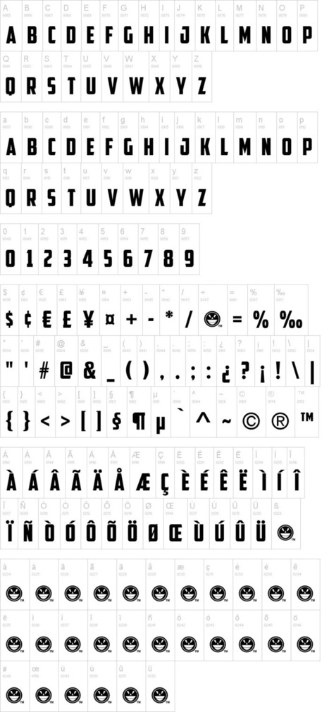 American Captain Font | dafont.com | Font Lust & Graphic Desires | Scoop.it