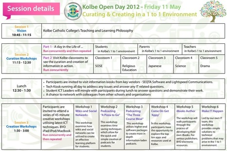 Kolbe Catholic College | Curating and Creating in a 1 to 1 Environment – Open Day | CuratED | Scoop.it