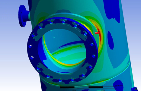 Predicting Fatigue in Pressure Vessels Using Finite Element Analysis | FEA Analysis | Scoop.it