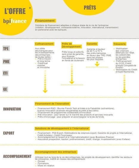 Les prêts Bpifrance : pour qui, pour quoi ?   Bpifrance servir l'avenir   Business & Development   Scoop.it