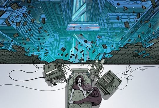 Post-Sapiens, les êtres technologiques - It's The Matrix Vs. The Apocalypse In This Arcadia #1 Comic Preview