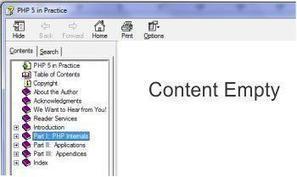 Solution to Invisible CHM E-book Content | Web Design & Development | SEO, PHP, Wordpress & CMS Tutorials | Scoop.it