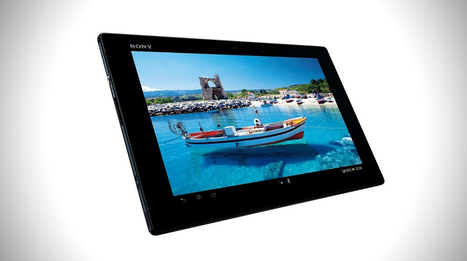 Sony Claims Thinnest Tablet with their Xperia Tablet Z | Mens Entertainment Guide | Scoop.it