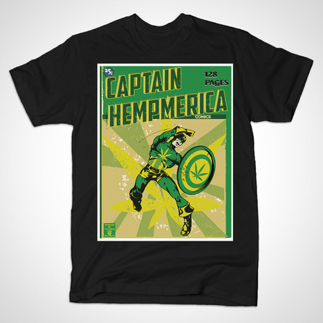 CAPTAIN HEMPMERICA by karmadesigner | karmadesigner | Scoop.it